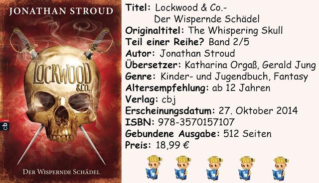 """[Rezension] """"Lockwood & Co.- Der Wispernde Schädel"""" von Jonathan Stroud"""