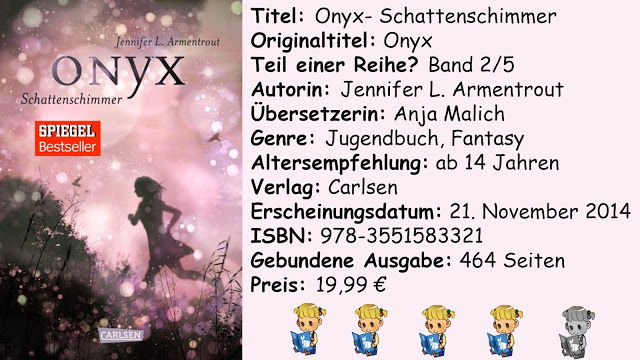 """[Rezension] """"Onyx- Schattenschimmer"""" von Jennifer L. Armentrout"""