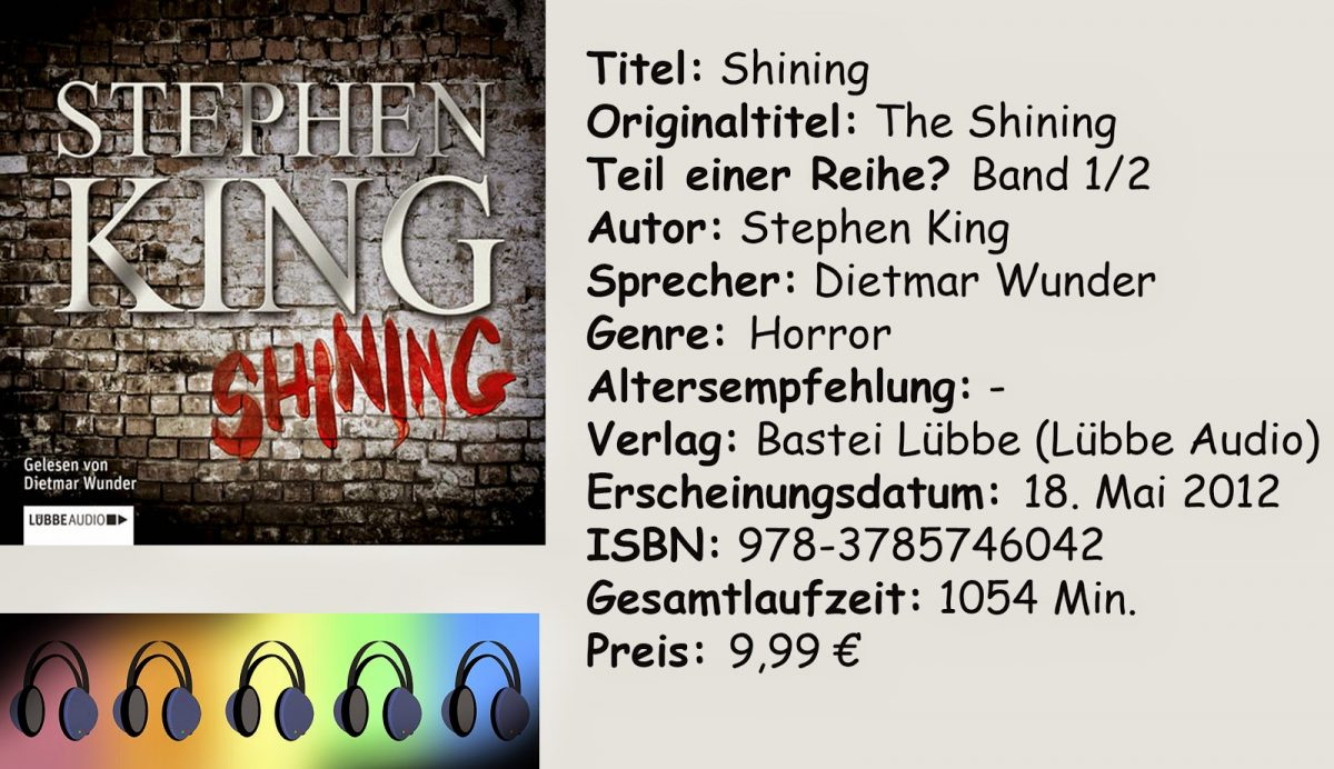 "[Hörbuch-Rezension] ""Shining"" von Stephen King"