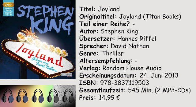 "[Hörbuch-Rezension] ""Joyland"" von Stephen King"