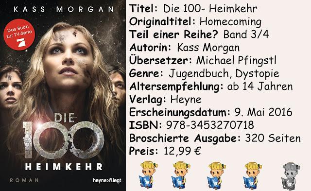 """[Rezension] """"Die 100- Heimkehr"""" von Kass Morgan"""