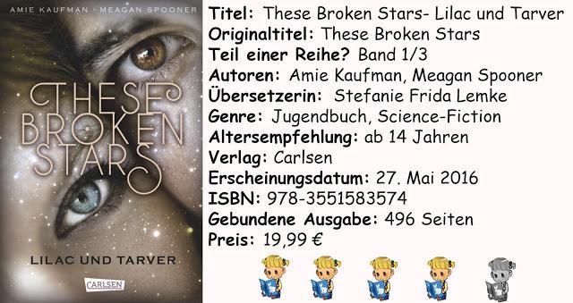 """[Rezension] """"These Broken Stars- Lilac und Tarver"""" von Amie Kaufman & Meagan Spooner"""