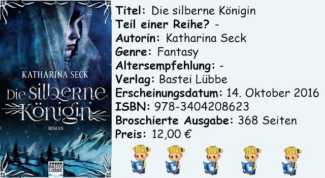 """[Rezension] """"Die silberne Königin"""" von Katharina Seck"""
