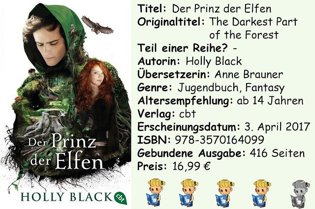 """[Rezension] """"Der Prinz der Elfen"""" von Holly Black"""