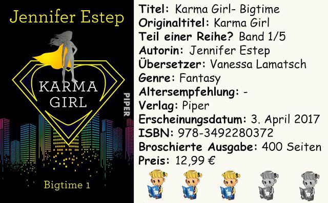 "[Rezension] ""Karma Girl- Bigtime"" von Jennifer Estep"