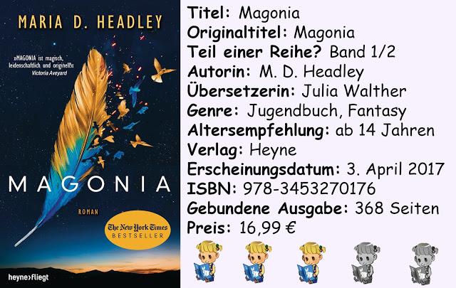 """[Rezension] """"Magonia"""" von M. D. Headley"""