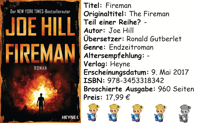 "[Rezension] ""Fireman"" von Joe Hill"