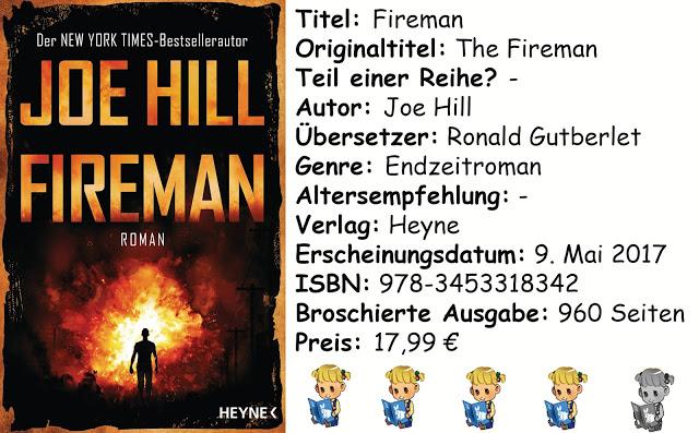 "[Rezension] ""Fireman"" von Joe Hill"