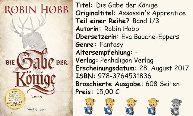 """[Rezension] """"Die Gabe der Könige"""" von Robin Hobb"""