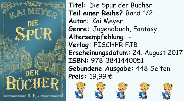 """[Rezension] """"Die Spur der Bücher"""" von Kai Meyer"""
