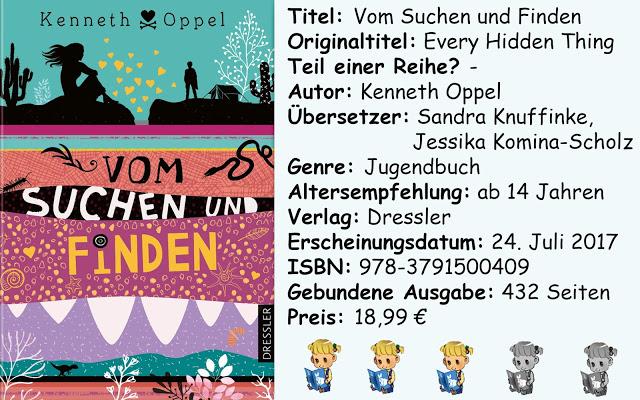 """[Rezension] """"Vom Suchen und Finden"""" von Kenneth Oppel"""