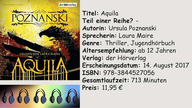 "[Hörbuch-Rezension] ""Aquila"" von Ursula Poznanski"