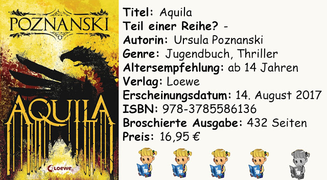 "[Rezension] ""Aquila"" von Ursula Poznanski"