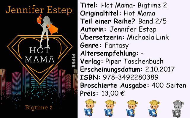 "[Rezension] ""Hot Mama- Bigtime 2"" von Jennifer Estep"