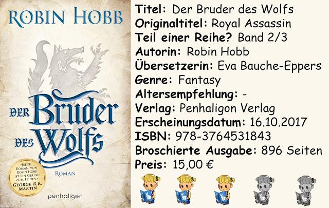 """[Rezension] """"Der Bruder des Wolfs"""" von Robin Hobb"""
