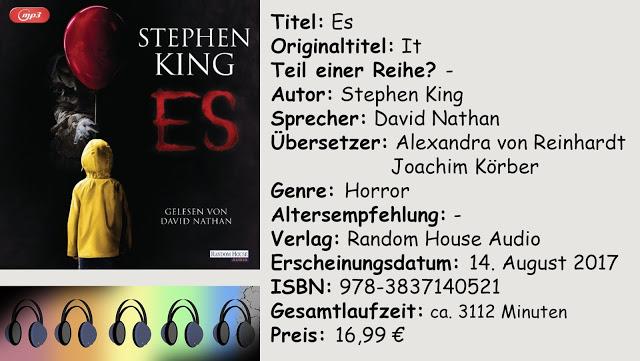 """[Hörbuch-Rezension] """"Es"""" von Stephen King"""