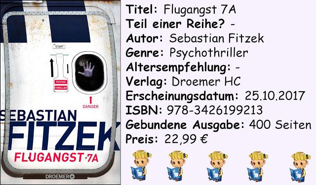 "[Rezension] ""Flugangst 7A"" von Sebastian Fitzek"