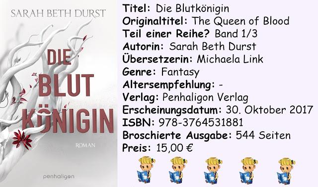 """[Rezension] """"Die Blutkönigin"""" von Sarah Beth Durst"""