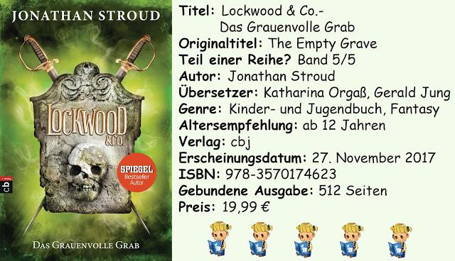 """[Rezension] """"Lockwood & Co.- Das Grauenvolle Grab"""" von Jonathan Stroud"""