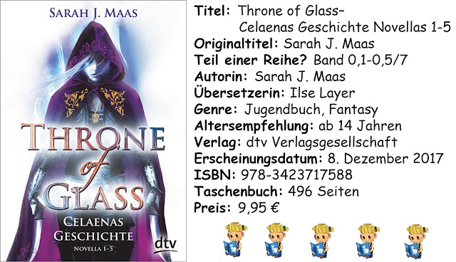 """[Rezension] """"Throne of Glass- Celaenas Geschichte Novellas 1-5"""" von Sarah J. Maas"""