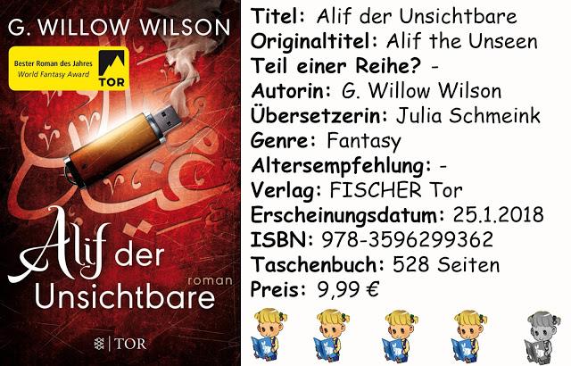 """[Rezension] """"Alif der Unsichtbare"""" von G. Willow Wilson"""