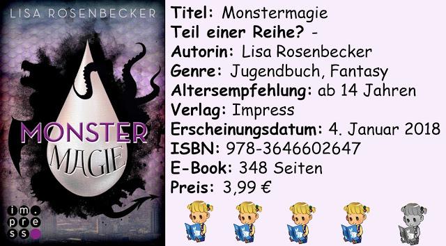 """[Rezension] """"Monstermagie"""" von Lisa Rosenbecker"""