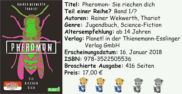 """[Rezension] """"Pheromon- Sie riechen dich"""" von Rainer Wekwerth und Thariot"""