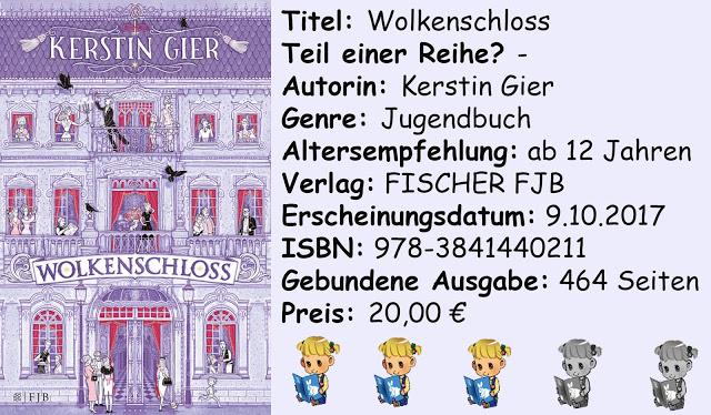 """[Rezension] """"Wolkenschloss"""" von Kerstin Gier"""