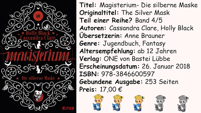 "[Rezension] ""Magisterium- Die silberne Maske"" von Holly Black/Cassandra Clare"