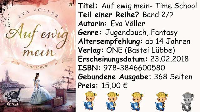 """[Rezension] """"Auf ewig mein- Time School"""" von Eva Völler"""