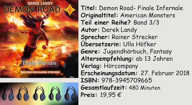 "[Hörbuch-Rezension] ""Demon Road- Finale Infernale"" von Derek Landy"