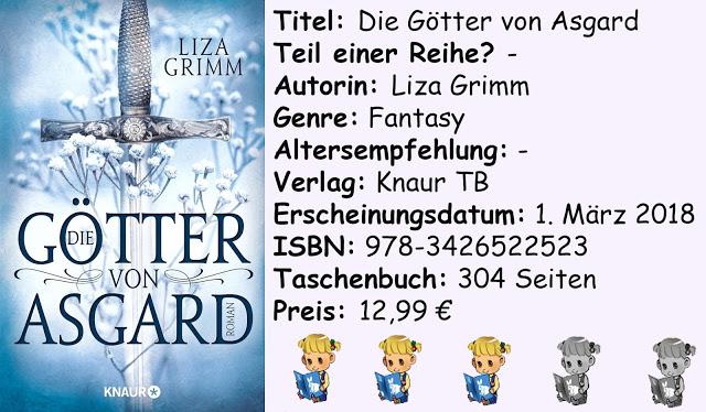 """[Rezension] """"Die Götter von Asgard"""" von Liza Grimm"""