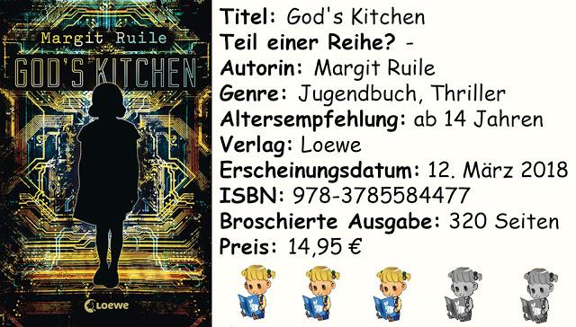 """[Rezension] """"God's Kitchen"""" von Margit Ruile"""