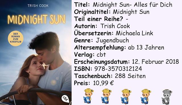 """[Rezension] """"Midnight Sun- Alles für Dich"""" von Trish Cook"""