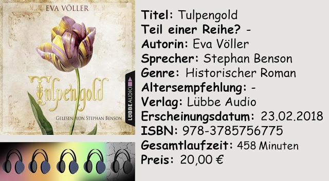 "[Hörbuch-Rezension] ""Tulpengold"" von Eva Völler"