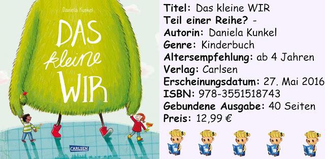 """[Kinderbuch-Rezension] """"Das kleine WIR"""" von Daniela Kunkel"""