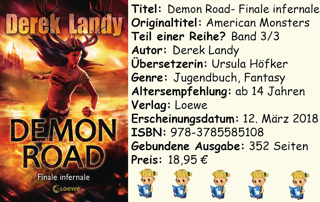 "[Rezension] ""Demon Road- Finale infernale"" von Derek Landy"