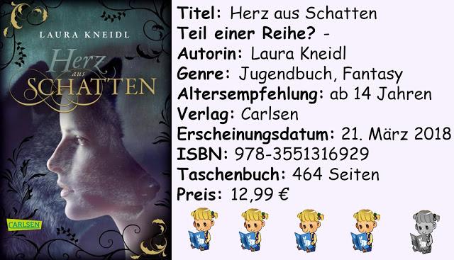 """[Rezension] """"Herz aus Schatten"""" von Laura Kneidl"""