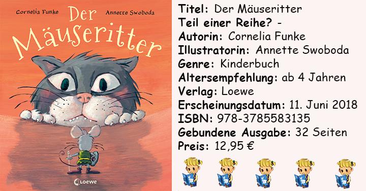 """[Kinderbuch-Rezension] """"Der Mäuseritter"""" von Cornelia Funke"""