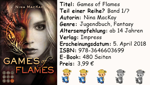 "[Rezension] ""Games of Flames"" von Nina MacKay"