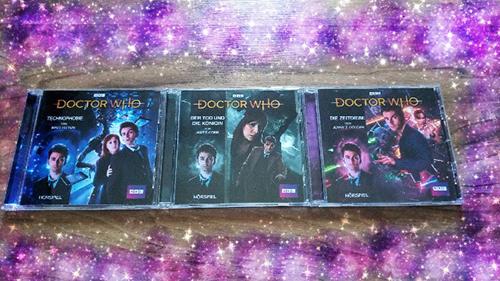 """[Hörspiel-Rezension] """"Doctor Who- Technophobie/Die Zeitdiebe/Der Tod und die Königin"""""""