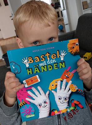 """[Bastelbuch-Rezension] """"Bastel mit den Händen"""" von Antje von Stemm"""