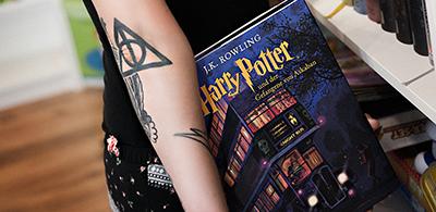 """""""Harry Potter""""- Eine Liebe die unter die Haut geht"""