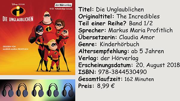 """[Hörbuch-Rezension] """"Die Unglaublichen"""""""