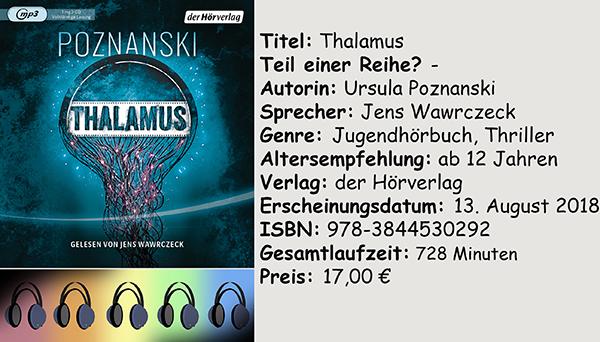 "[Hörbuch-Rezension] ""Thalamus"" von Ursula Poznanski"