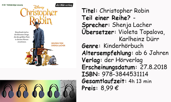 "[Hörbuch-Rezension] ""Christopher Robin"""